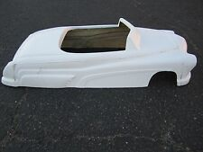 1951 Mercury hot rod stroller pedal car fiberglass body rat rod Merc rat rod