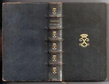 LONGUS LES AMOURS PASTORALES DE DAPHNIS ET CHLOE 15 EAUX-FORTES 1872 MAROQUIN