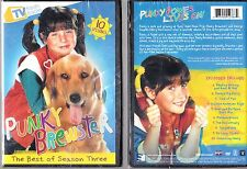 PUNKY BREWSTER 10 of the BEST episodes of SEASON 3 THREE color 219 min NEW DVD