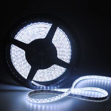 5M SMD 3528 Waterproof 600 LED Strip Light Flexible Lamp Ribbon Tape Roll White