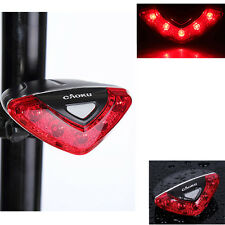 Upscale Waterproof 5 LED Bike Taillight 4 Modes Cycling Bicycle Rear Flash Light