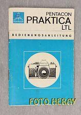 Pentacon Praktica ltl los originales manual de instrucciones 02265