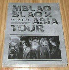 MBLAQ M-BLAQ THE BLAQ% TOUR ASIA CONCERT PHOTO BOOK PHOTOBOOK + DVD SEALED