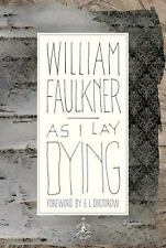 As I Lay Dying: The Corrected Text (Modern Library)-ExLibrary