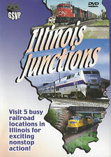 Illinois Junction DVD UP CSX IC CN GT NS  Railroad Greg Scholl NEW!