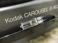 Slide projector KODAK CAROUSEL S-AV 2000 2020 bulb  24v 250W NEW STOCK