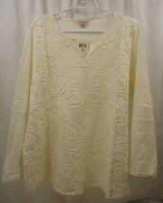 Women's Lucky Brand L/S  Soutache  Shirt  3X