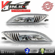 06-10 Toyota Sienna Clear Bumper Driving LED Fog Lights w/ Wiring Switch Kit