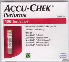 ACCU- CHEK PERFORMA 500 TEST STRIPS NEW STOCK - expiry may 2018 FREE SHIP