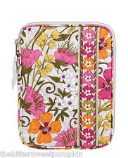 VERA BRADLEY~QUILTED L-ZIP E-READER SLEEVE~TEA GARDEN~FITS I-PAD MINI-NOOK~BNWT!