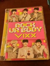 Vixx rock ur body cd album Kpop K-pop (no photo card) n ravi leo hongbin hyuk