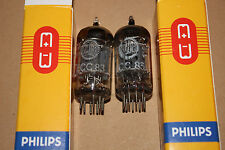 2x Very Strong and Matched ECC83 12AX7 I65 Philips Valvo Premium Vintage Tubes