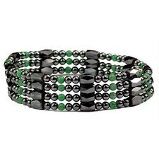 Simulated Jade Hematite - Magnetic Therapy Bracelet or Anklet