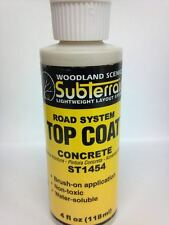 Woodland Scenics Top Coat Concrete Paint #1454 ST1454 Model Trains Diorama