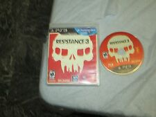 Resistance 3 (PlayStation 3, PS3) with box