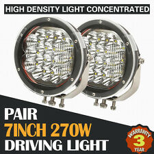2X 7INCH 270W CREE LED DRIVING LIGHT BAR OFFROAD REPLACE HID SPOT COMBO 4WD ATV
