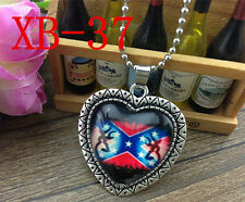 HOT Browning Deer Silver Plated CHAIN NECKLACE Alloy & Pendants #XB-37