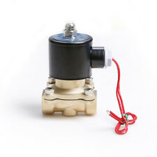 """1/2"""" Electric Solenoid Valve For Water Air Oil N/C 220V ±10%  Normally Closed"""