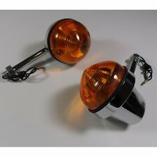 Classic Motorcycle Indicators-Short Stem Suitable for Triumph, BSA, Norton
