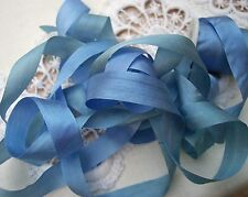 "100% PURE SILK  RIBBON  VARIEGATED 1/2"" [13MM] 10 YRD DISCONTINUED ~FINAL SALE~"