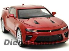 2016 CHEVY CAMARO SS GAMET RED DIECAST 1:18 MODEL CAR BY AUTOWORLD AW230 NEW
