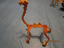 """vintage rubber coated wire toy Bendy Camel bendable Toy Figure 12"""" long"""