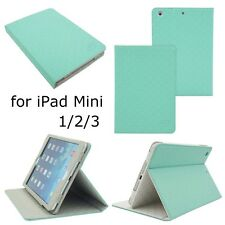 Business Fashion Shockproof Smart Case Cover Grid Style for Apple iPad mini 2 3