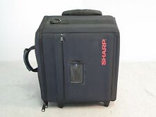 Sharp Rolling Camera / Camcorder Bag, Case w/ Retractable Handle