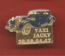 Pin's pin TAXI JACKY VOITURE RETRO (ref CL05)