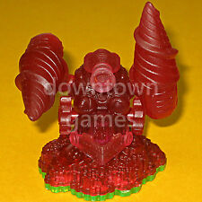 RED DRILL SERGEANT Skylanders Spyro's Adventure figure, CRYSTAL CLEAR VARIANT