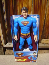 """NEW Extra Large SUPERMAN Action Figure Doll MARVEL  30"""" TALL  NEW IN BOX"""