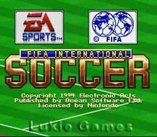 Fifa International Soccer - SNES Super Nintendo Game