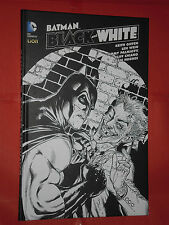 BATMAN -BLACK & WHITE N°6 -CARTONATO RW LION NUOVO BIANCO E NERO GRANDI OPERE DC