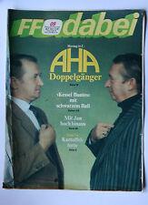 DDR Fernsehzeitschrift FF Dabei RARITÄT 09/1987 TOP !!