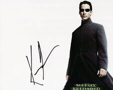 Keanu Reeves - Neo - The Matrix - Signed Autograph REPRINT