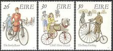 Ireland 1991 Early Bicycles/Bikes/Horse/Cycling/Transport 3v set (n14622)