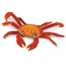Galapagos Sally Lightfoot Crab Incredible Creatures Figure Safari Ltd NEW