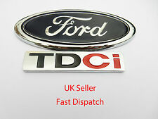 Ford TDCI Replacement Badge. Brand New. Mondeo, Focus, Fiesta, Connect Van ETC