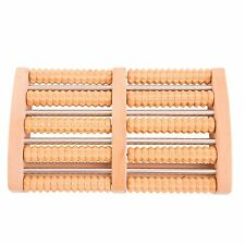 Wooden Foot Roller Massager Massage Roller Reflexology Relax Stress Relief Sleep