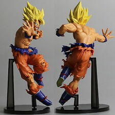 Dragon Ball Z Fighting Son Goku PVC Figure Toy Anime Collection New In Box 18cm