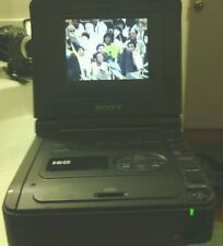 SONY GV-A500 HI8 8MM VIDEO WALKMAN VCR WORKS GREAT FOR 8MM TO TRANFER VIDEO DVD