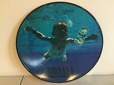 NIRVANA - NEVERMIND - BRAND NEW 180 GRAM PICTURE DISC VINYL LP RECORD