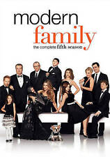 Modern Family: The Complete Fifth Season (DVD, 2014, 3-Disc Set) New 5 5th V