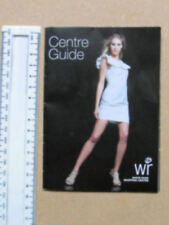 VTGE WHITE ROSE SHOPPING CENTRE LEEDS GUIDE RETAIL HISTORY EPHEMERA COLLECTABLE