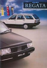 Fiat Regata 70 85 100ie Mare SX Riviera Turbo D Weekend 1989-90 UK Brochure