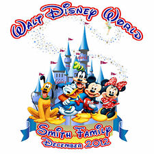 2016 GREAT DISNEY VACATION MINNIE MICKEY MOUSE PERSONALIZED T-SHIRT FAMILY NAME