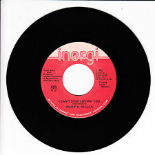 MARY K. MILLER I Can't Stop Loving You VG(+) 45 RPM