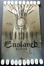 ENSLAVED SIGNED RIITIIR POSTER: 11x17 Norwegian Metal Nuclear Blast