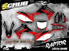 SCRUB Honda graphics decals CRf 450R 2013  2014 2015 2016 Stickers MX '13-'16