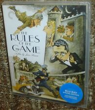 RULES OF THE GAME BLU-RAY SPECIAL EDITION, NEW & SEALED, REGION A, A CLASSIC!
